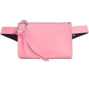 REBECCA MINKOFF pink Fanny pack. Waist bag